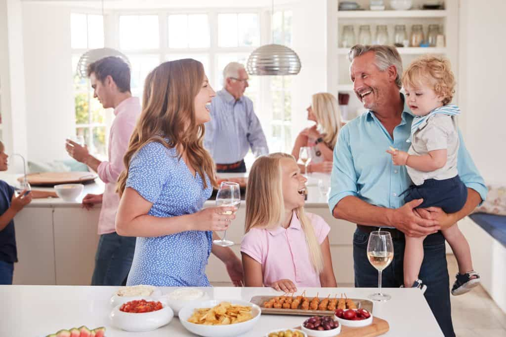 Be part of the party with a kitchen extension
