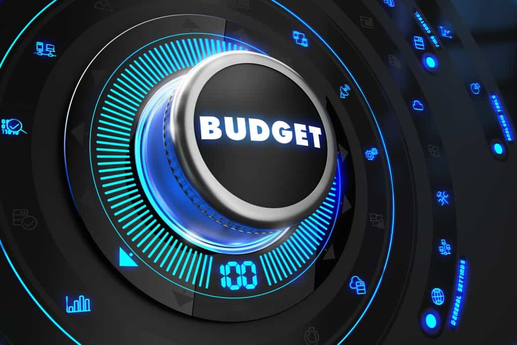 How to set an extension budget