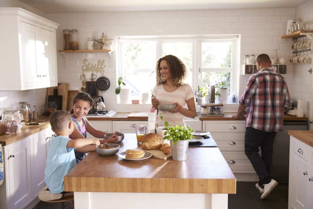 Family Time With Kitchen Extensions
